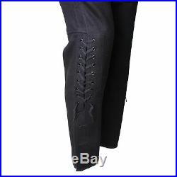 Size S Ww2 German Elite M32 Black Wool Tunic & Breeches Classical Repro