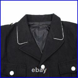Size XXL Ww2 German Elite M32 Black Wool Tunic & Breeches Classical Repro