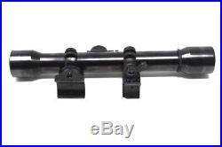 Sniper WWII Kar98k K98 Rifle Scope with High Mount K98 German
