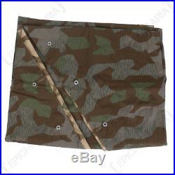 Splinter Zeltbahn WW2 Repro German Shelter Basha Army Camouflage Military New
