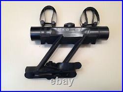 Swept Back German Mauser K98 K98K 98K ZF4 Sniper Scope and Mount combo