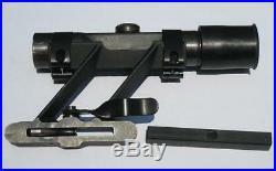 Swept Back German Mauser K98 k98K 98k ZF4 Sniper Scope Mount