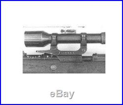 Type 2 SSR Sniper Scope Mount for German K98 98K Mauser 100% Machined NOT Casted
