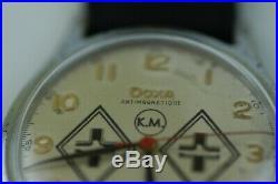US Seller WW2 U-boat U-185 10. FLOTILLA KRIEGSMARINE Wrist Watch-35 mm