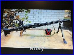 Ural / Dnepr Designer copy German machine gun MG42 (FAKE) model of WWII weapon