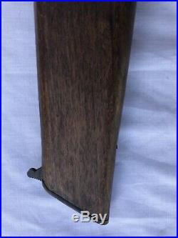 Vintage Broom Handle Shoulder Wood Stock! Estate Find