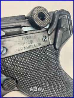 Vintage WWII German Luger P-08 1720 Parabellum pistol REPLICA Prop gun