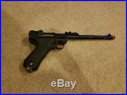 WE Full Metal Airsoft Luger P08 Airsoft Gun WWII GBB