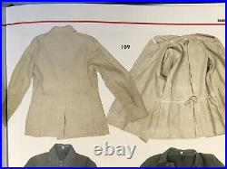 WHITE DRILICHE TUNIC enlisted HBT summer WWII German Army XL size 48 snow camo