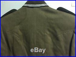 WW2 Authentic Museum Quality German RAD Officer Uniform Tunic Size S $10.000