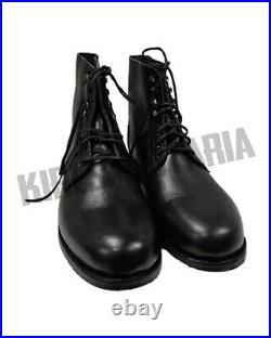 WW2 Black Panzer Boots