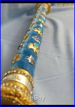 WW2 Customize German Field Marshall batons with diamonds or without diamonds