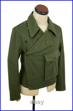 WW2 DAK/Tropical Afrikakorps olivebrown Heer panzer wrap/jacket type II L