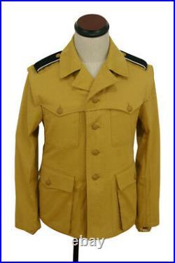 WW2 DAK/Tropical elite sand field tunic 2nd pattern/M43 Italian SAHARIANA M