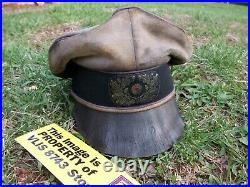 WW2 GERMAN DAK, 21'st PANZER DIV, OFFICERS CRUSHER VET-BRING BACK STYLE