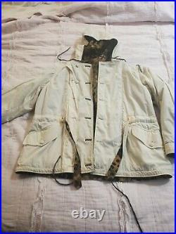 WW2 GERMAN DOT 44 WINTER REVERSIBLE Pants 110cm waist and 44 dot parka sz 46 48