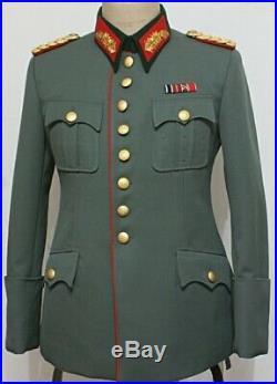 WW2 GERMAN GENERALS PIPED ROCK tunic