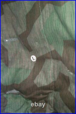 WW2 GERMAN SPLINTER REVERSIBLE PARKA Size L
