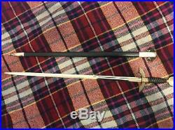 WW2 German Air Force Luftwaffe Officer's F&A Sword (First Generation)