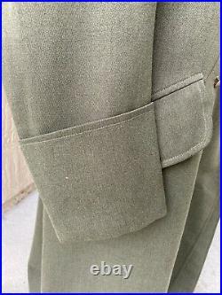 WW2 German Army Heer Field Marshal General Officers Overcoat Jacket Coat