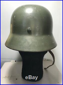 WW2 German Army Helmet M35 DD With Liner