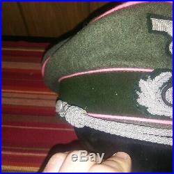 WW2 German Commander Hat and Panzer Commander Hat