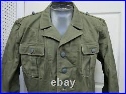 WW2 German DAK Afrika Korps Tropical Uniform Tunic At the Front Reproduction