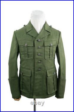 WW2 German DAK/Tropical Afrikakorps M40 officer olivebrown field tunic M