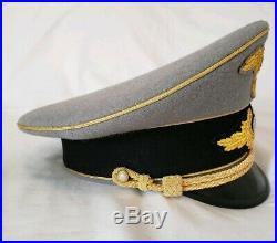 WW2 German Diplomatic Ambassador Government Generals Officers Visor Hat Cap