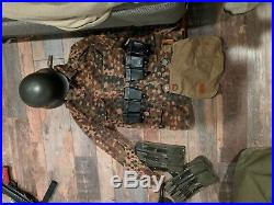 WW2 German Dot Uniform SS Size 44R lot of items