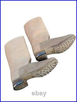 WW2 German EM Leather Jack Boots
