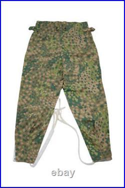 WW2 German Elite DOT 44 camo M43 field trousers keilhosen