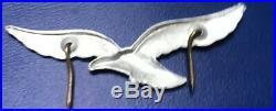 WW2 German Elite Luftwaffe Officer Hat Cap Silver badge Original X Fragment
