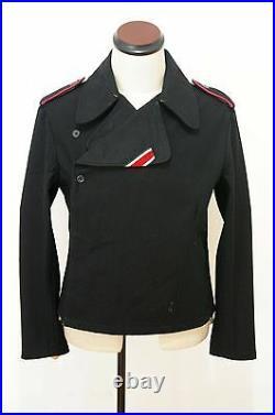 WW2 German Elite panzer black wool wrap/jacket