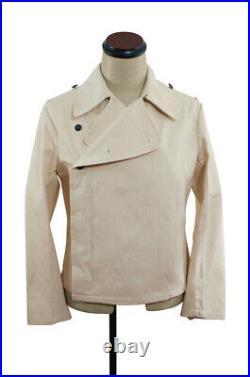 WW2 German Elite panzer summer off-white HBT wrap/jacket