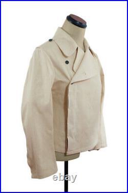 WW2 German Elite panzer summer off-white HBT wrap/jacket M