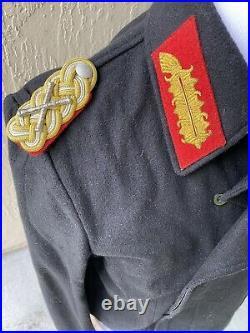WW2 German Field Marshal General Officers Panzer Tanker Jacket Coat Wrap