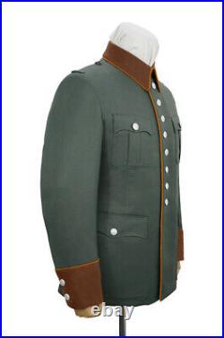 WW2 German Field Police officer Gabardine waffenrock tunic