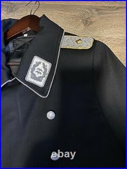 WW2 German General Elite Gabardine Greatcoat Luftwaffe Size Large