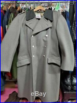 WW2 German Greatcoat Overcoat Vintage. Wool Gabardine