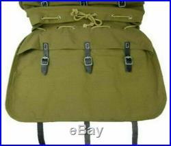 WW2 German Heer Elite Mountain Troops Soldier Canvas Rucksack Military Backpack