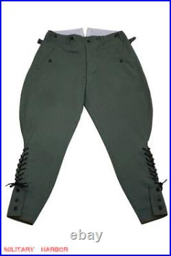 WW2 German Heer Field grey Gabardine Breeches