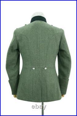 WW2 German Heer M27 Officer Wool service tunic Jacket II M