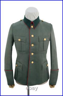 WW2 German Heer M36 General Gabardine piped service tunic Jacket