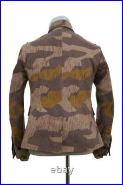 WW2 German Heer Splinter 41 Brown Variation Camo M41 field tunic