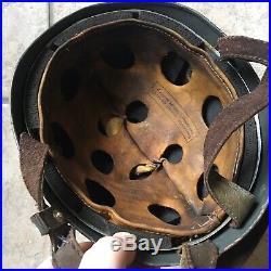 WW2 German Helmet 38 Paratrooper (Fallschirmjägerhelm). Size 71 M35 M42