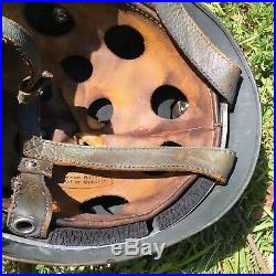 WW2 German Helmet 38 Paratrooper MEDIC Large Size M35 M42