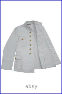 WW2 German Kriegsmarine M29 Officer Summer white Jacket tunic
