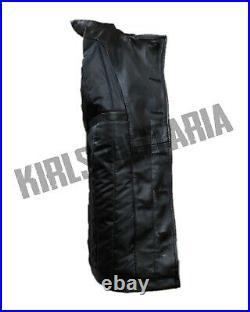 WW2 German Kriegsmarine Panzer Wrap black leather
