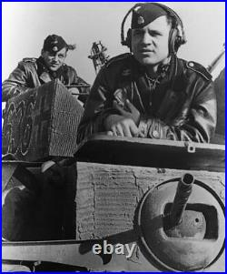 WW2 German Leather Panzer, Jacket, Michael Wittman, Tanker Jacket & Wool M43 Cap